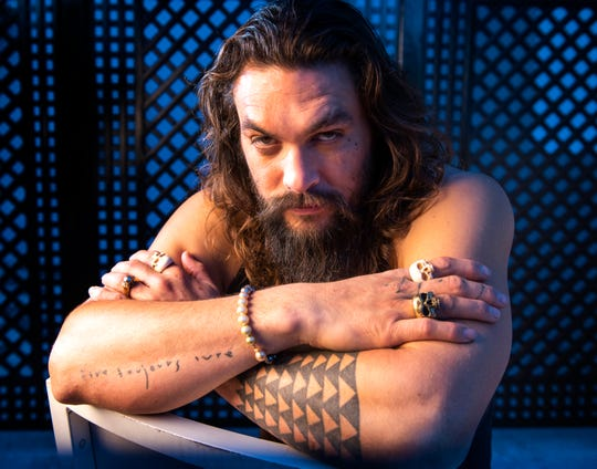 """It's time for Jason Momoa's close-up as a solo superhero in """"Aquaman."""""""