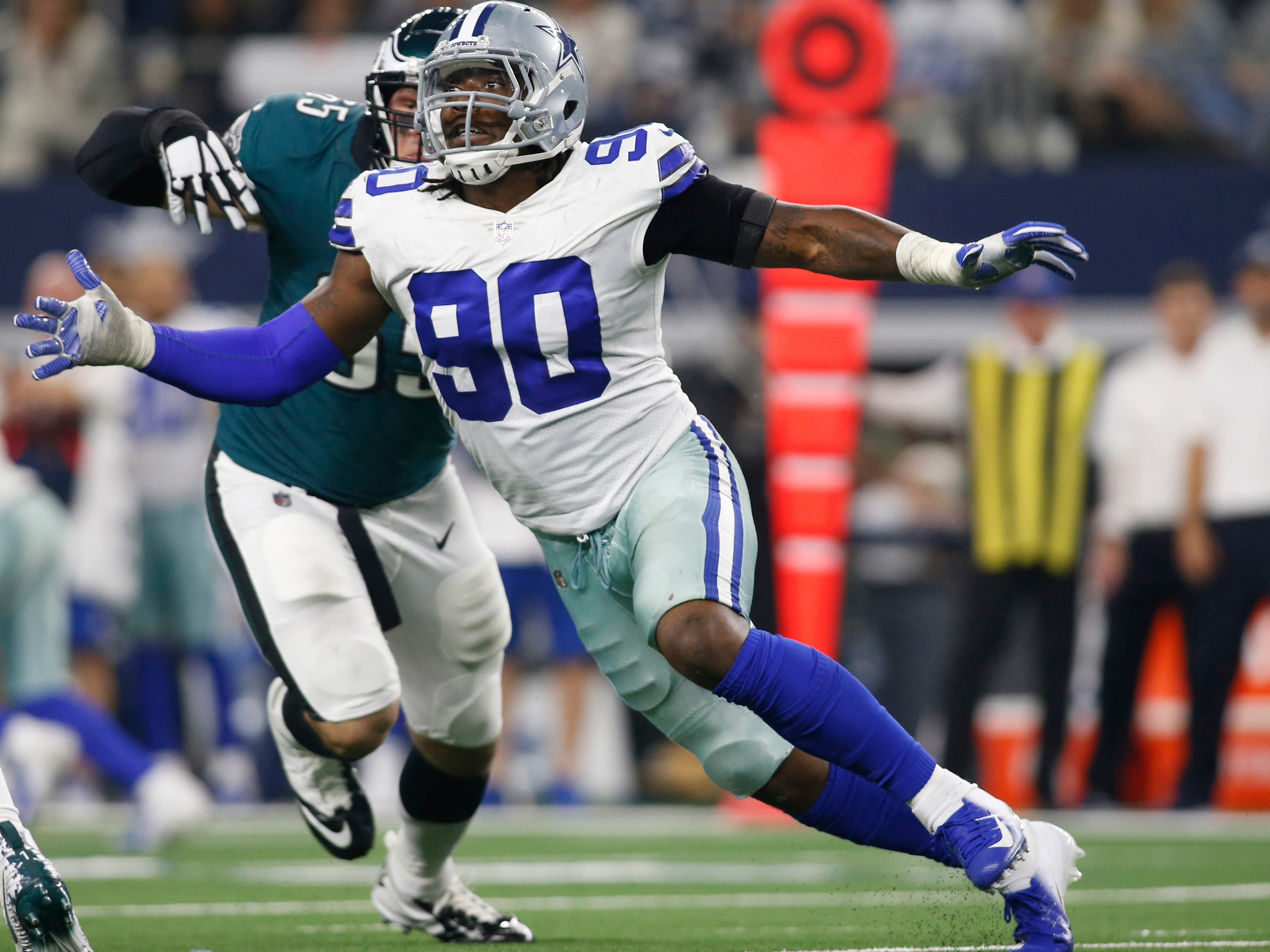 DE - DeMarcus Lawrence, Dallas Cowboys