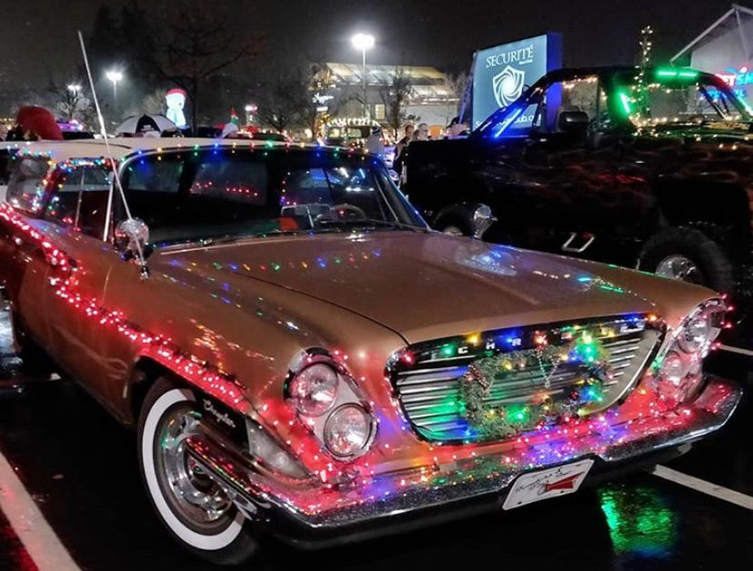 Cars Decorated For Christmas