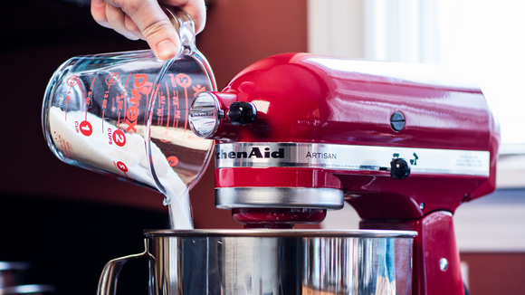 The KitchenAid artisan stand mixer