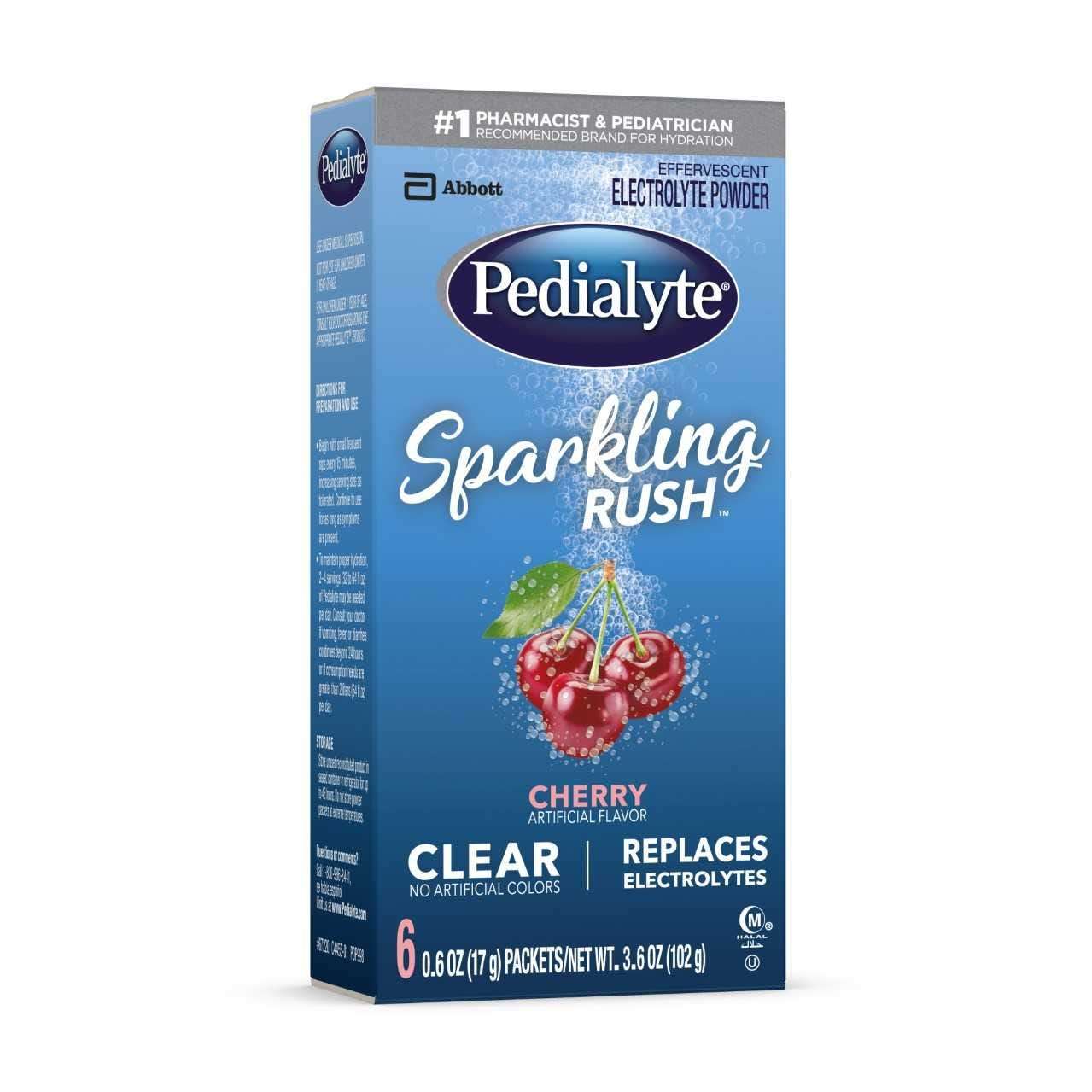 Pedialyte Sparkling Rush Powder Pack