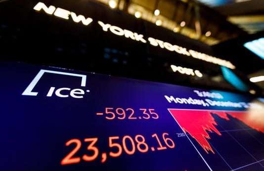 Dow Jones today: Fed decision pushes stock market lower