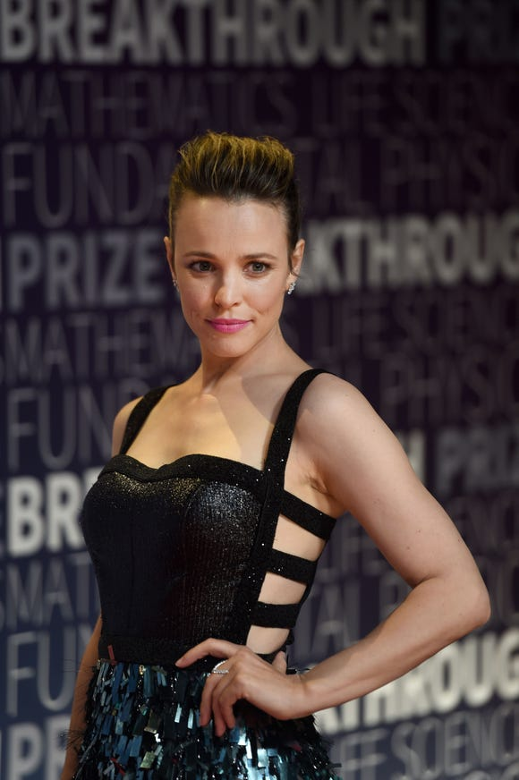Rachel McAdams gave birth to her son in April.