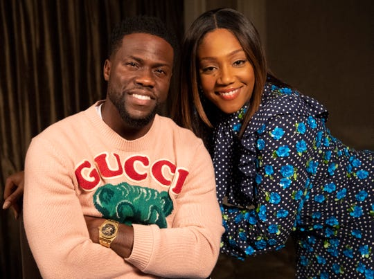 """Longtime friends Kevin Hart and Tiffany Haddish star in """"Night School."""""""