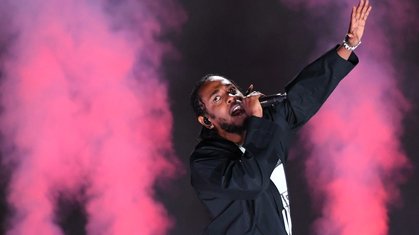 Jan. 28, 2018: Kendrick Lamar performs during the 60th Annual Grammy Awards at Madison Square Garden.