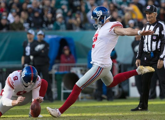 Nfl New York Giants At Philadelphia Eagles