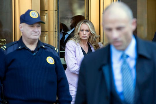 Adult film actress Stormy Daniels says she was paid to keep quiet about an affair with Donald Trump.