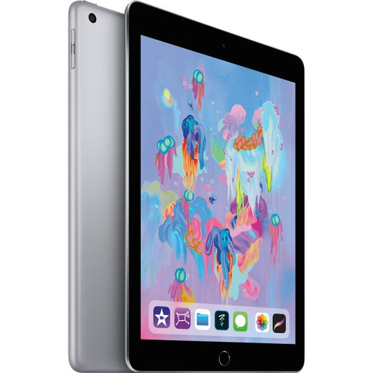 The newest (6th Gen) Apple iPad now works with Apple Pencil, an optional accessory that gives you greater precision for work or play.
