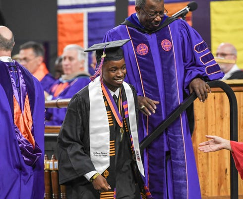 Clemson Winter Graduation 2018
