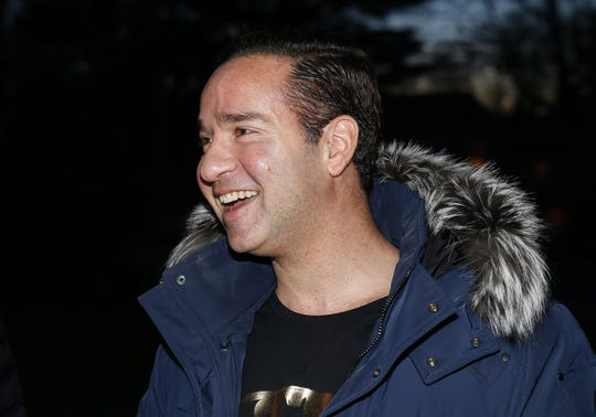 "Mike ""The Situation"" Sorrentino visits Phoenix Recovery house in Eatontown to speak to guests attending the annual Christmas party on Wednesday, December 19, 2018."