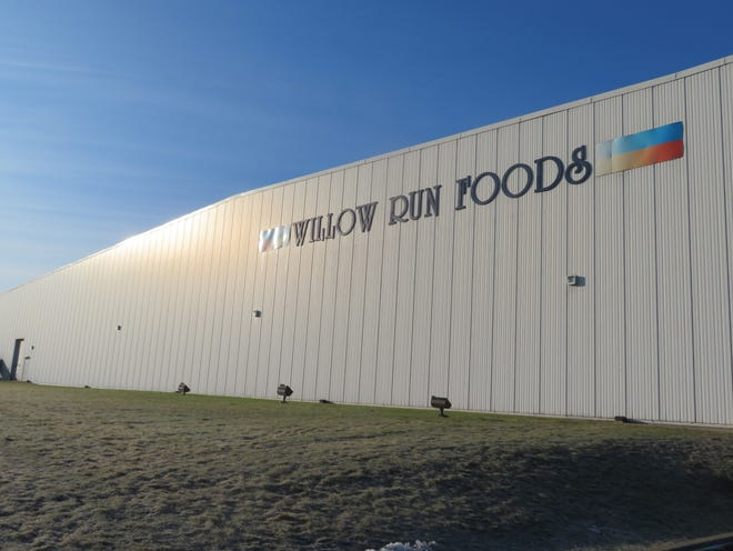 The Willow Run Food distribution center in Kirkwood.