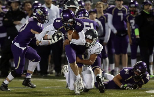 North Kitsap freshman Colton Bower (2) made the Associated Press Class 2A all-state football team at linebacker.