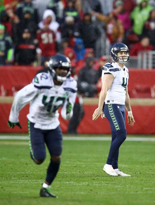 45e53aeb2 Rookie punter Dickson has been even better than Seahawks expected