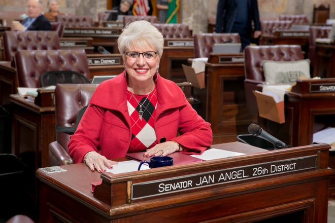Sen. Jan Angel, R-Port Orchard, has served in the Washington State Senate since 2013. Angel retired at the end of the 2018 session.