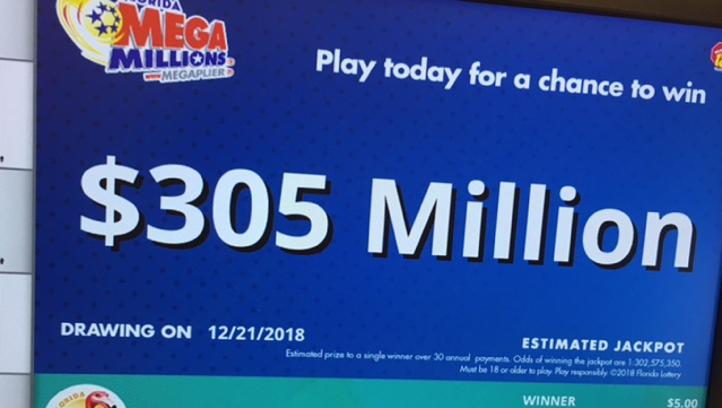 Two $1M lottery tickets sold on Space Coast