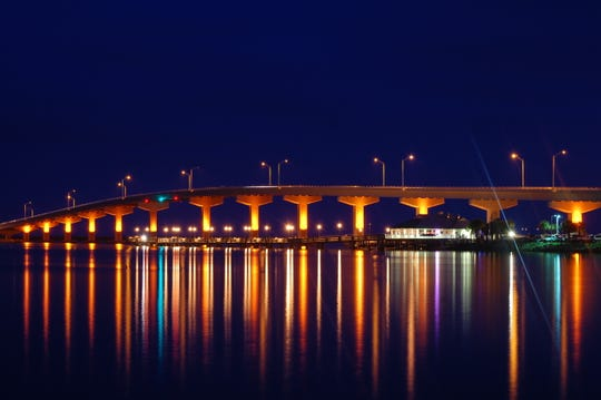 A. Max Brewer Bridge over the Indian River in Titusville