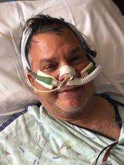 Bob Gabordi after his stroke.