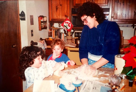 Evan Roberts Ross, who is organizing the Burlington Cookie Drive, said his favorite part of the holidays as a child was making cookies with his sister, Kathryn, and mother, Wendy.