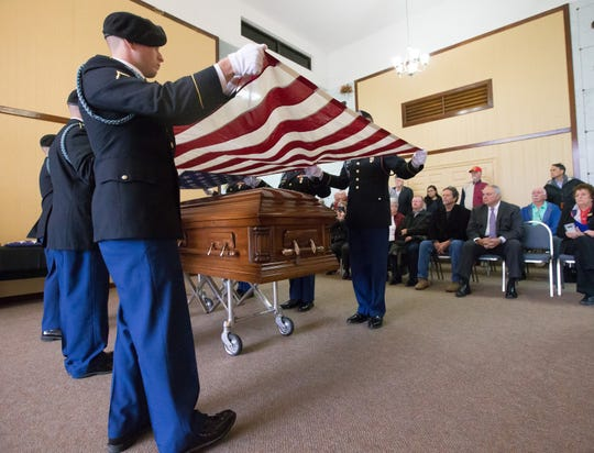 Army Cp. Edward M. Jones was buried at Highland Cemetery in Lake Charles, Louisiana, in November 2018. He was a POW in Korea and unaccounted for more nearly 70 years.