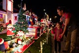 Bill Cox has added decorations to his home on Hampton Street in Southside Corpus Christi since 1998. Here's what his Christmas Wonderland looks like.