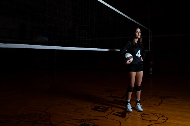 All-South Texas Volleyball Most Valuable Player Flour Bluff's Cali Nims