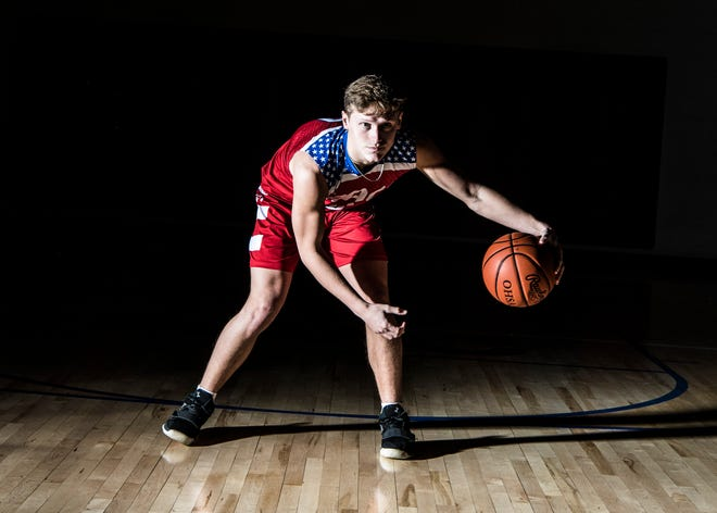 Zane Trace point guard Colby Swain announced his commitment to Wittenberg on Wednesday.