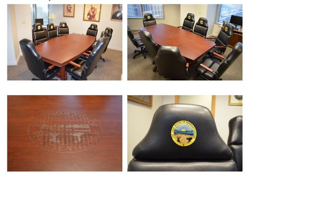 Ohio Penal Industries provided a custom-made table and chairs, worth $9,313, to Rep. Larry Householder free of charge.