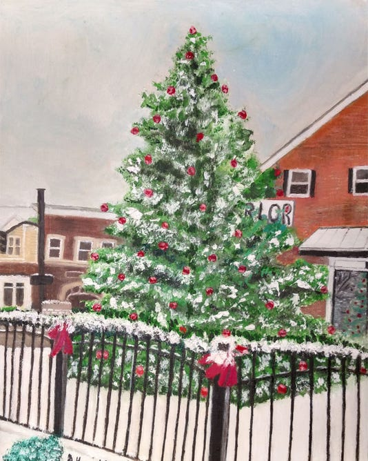 2018 Holiday Card By Gerry Hounchell Reduced For Website