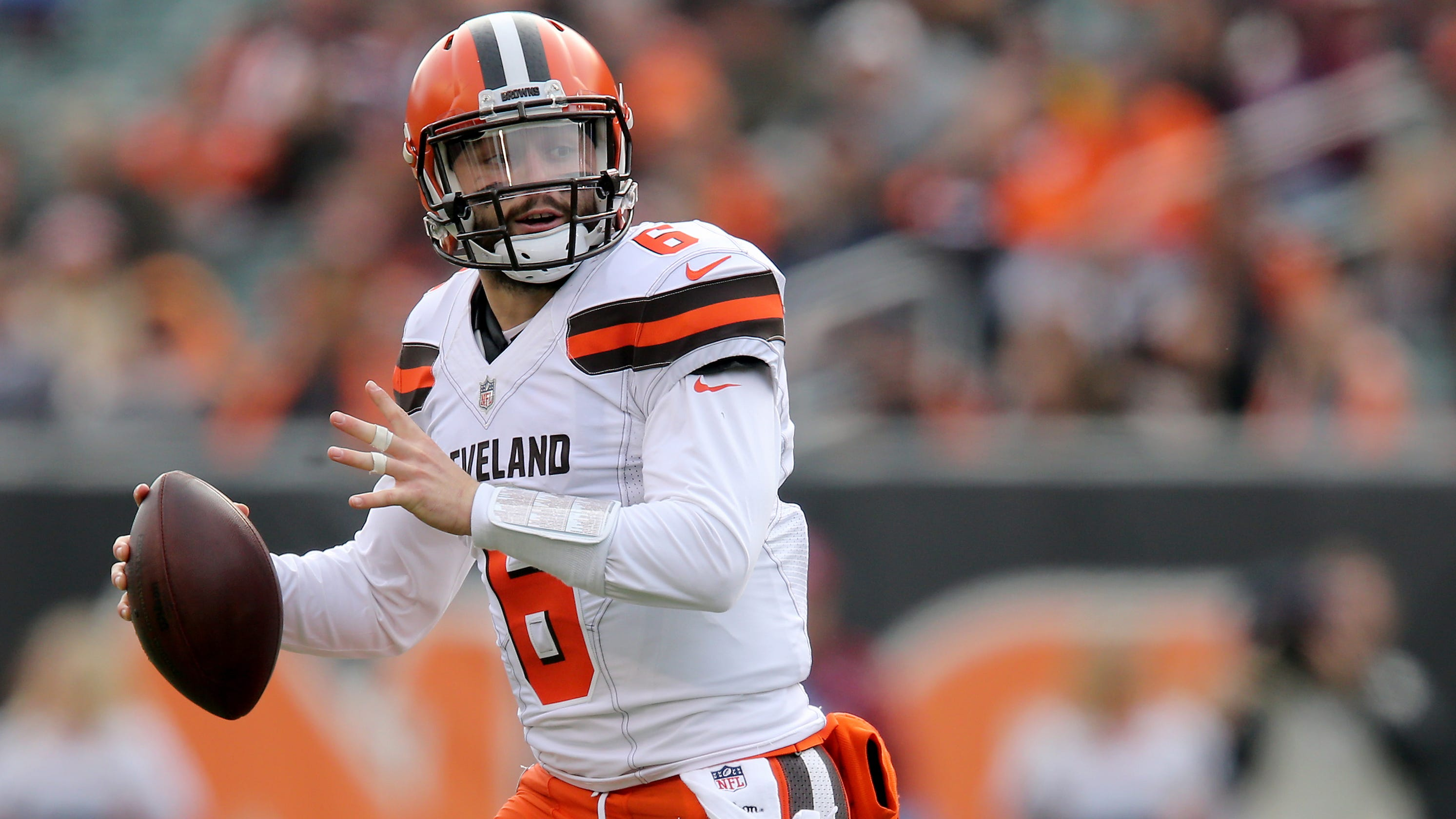 e922be5c57f Paul Daugherty  Cleveland Browns quarterback Baker Mayfield lifts a whole  city