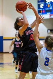 Indian Hill freshman Ella Riggs is averaging 18.3 points per game this season.