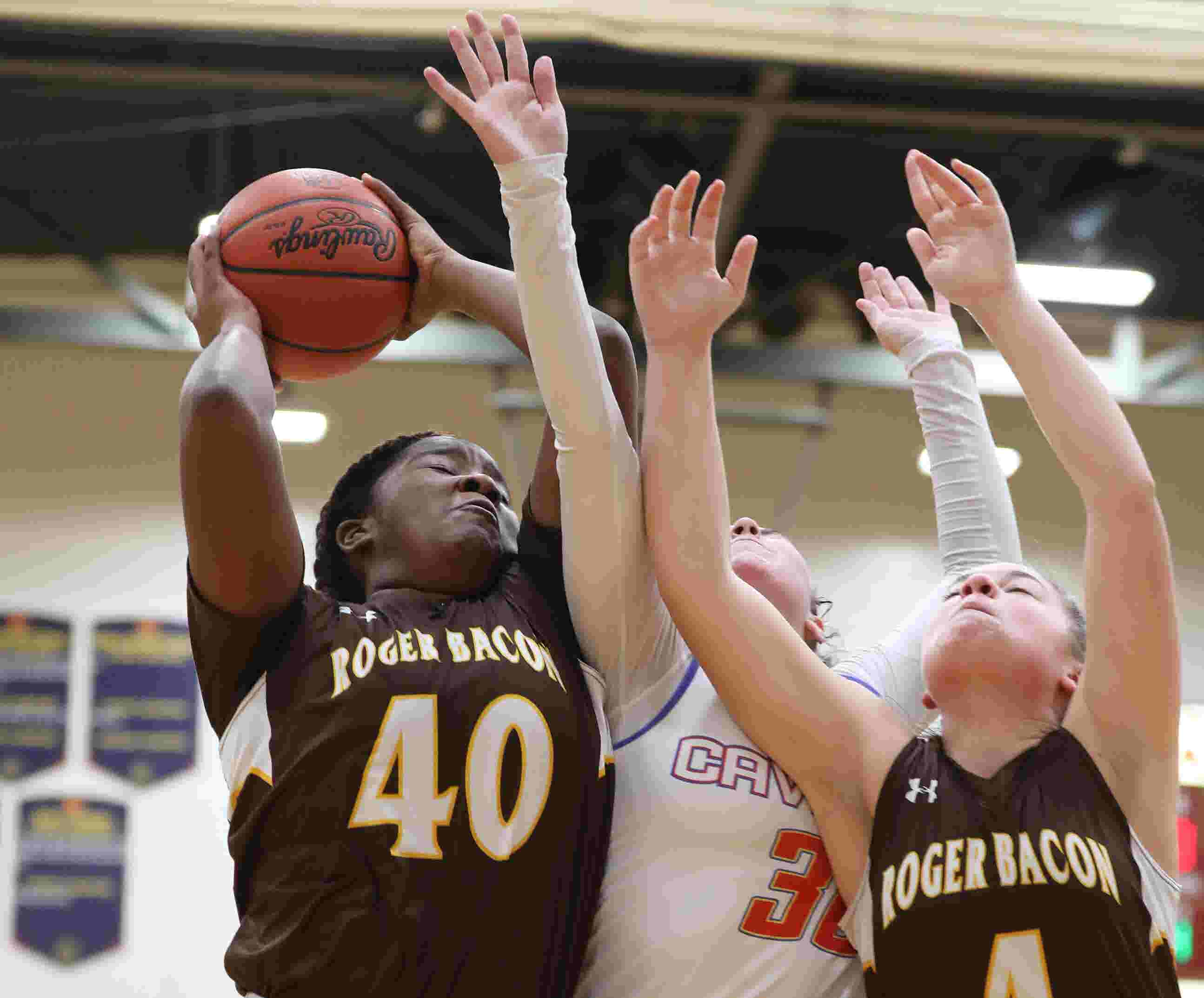 WATCH: Roger Bacon girls basketball hoping for district title