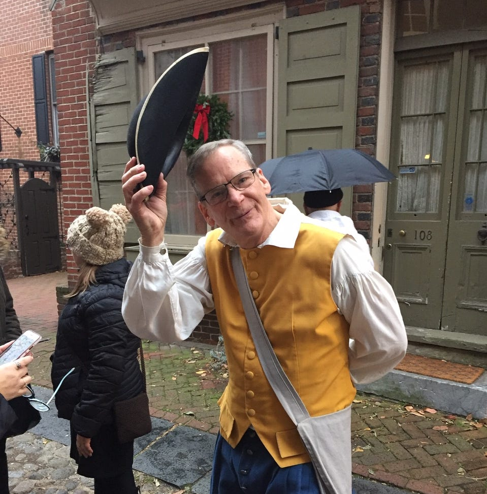 Philadelphia's Elfreth's Alley: Oldest residential street in America opens its doors for semi-annual tour