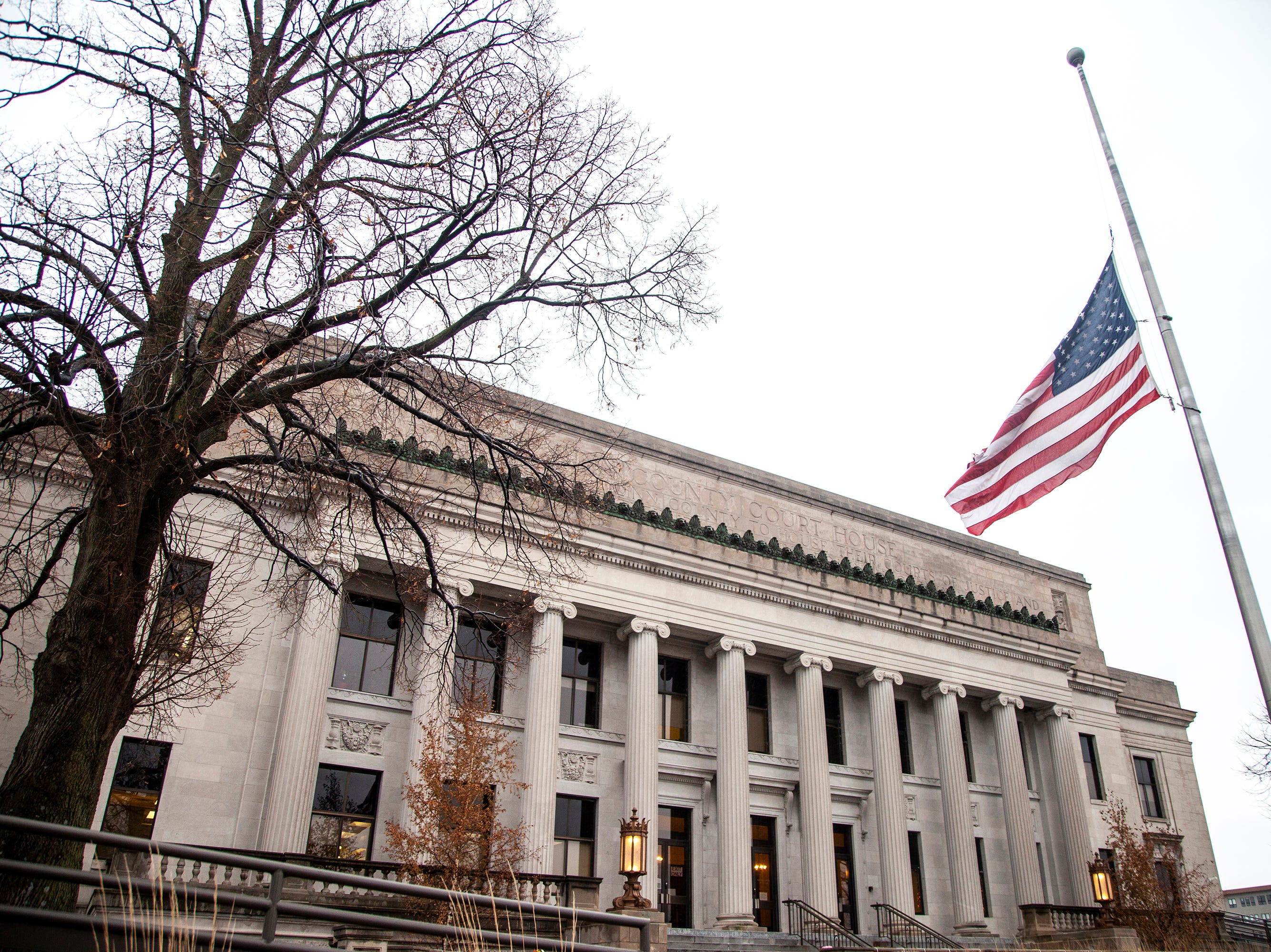 Linn County Courthouse is seen on Thursday, Dec. 20, 2018, at 51 3rd Avenue Bridge in Cedar Rapids.