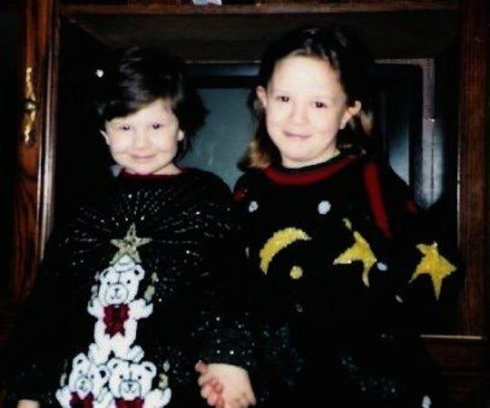 Mindi and her sister, Brandi