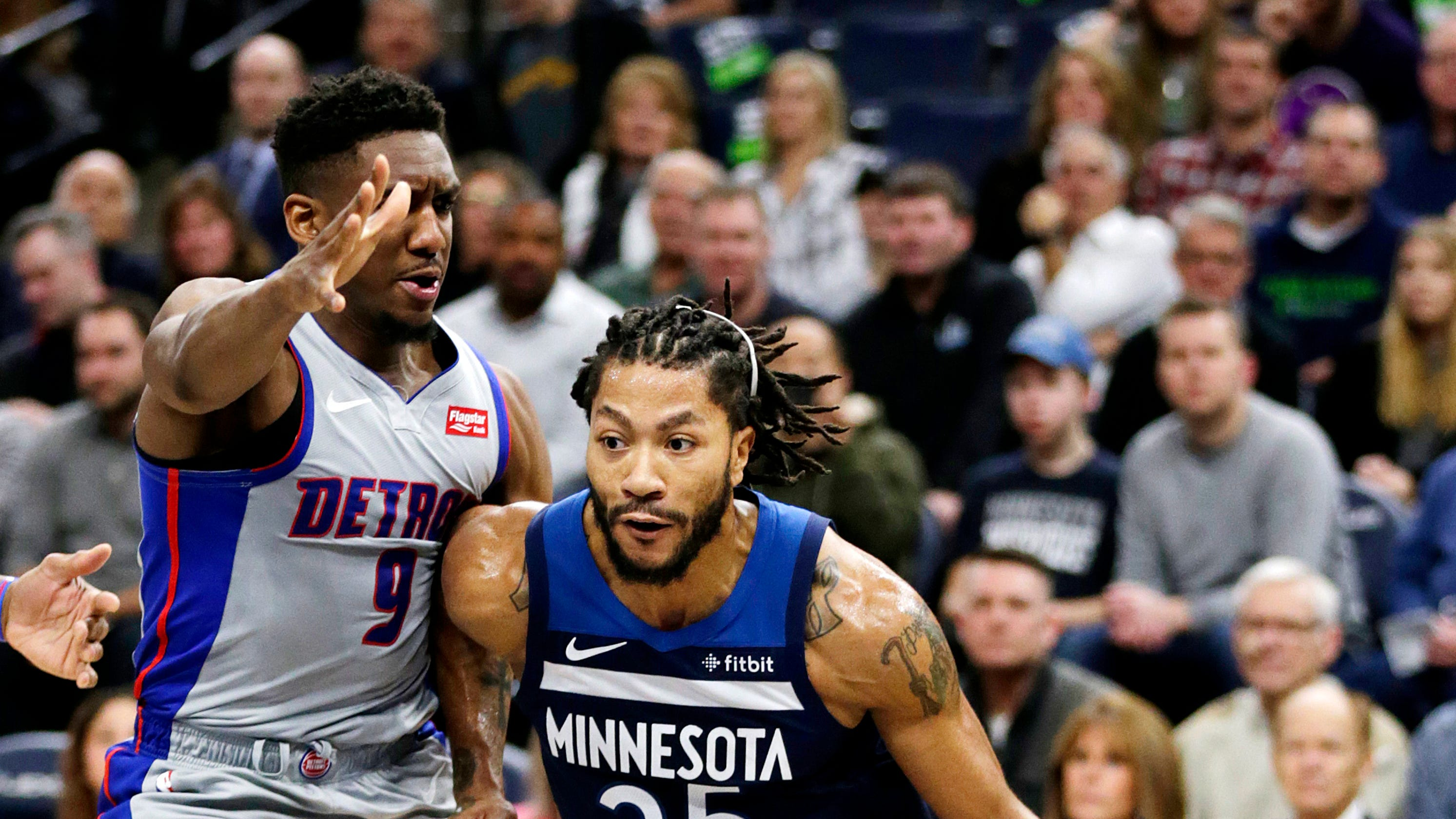 lowest price 63a85 16070 Detroit Pistons, Derrick Rose reportedly looking at 2-year deal