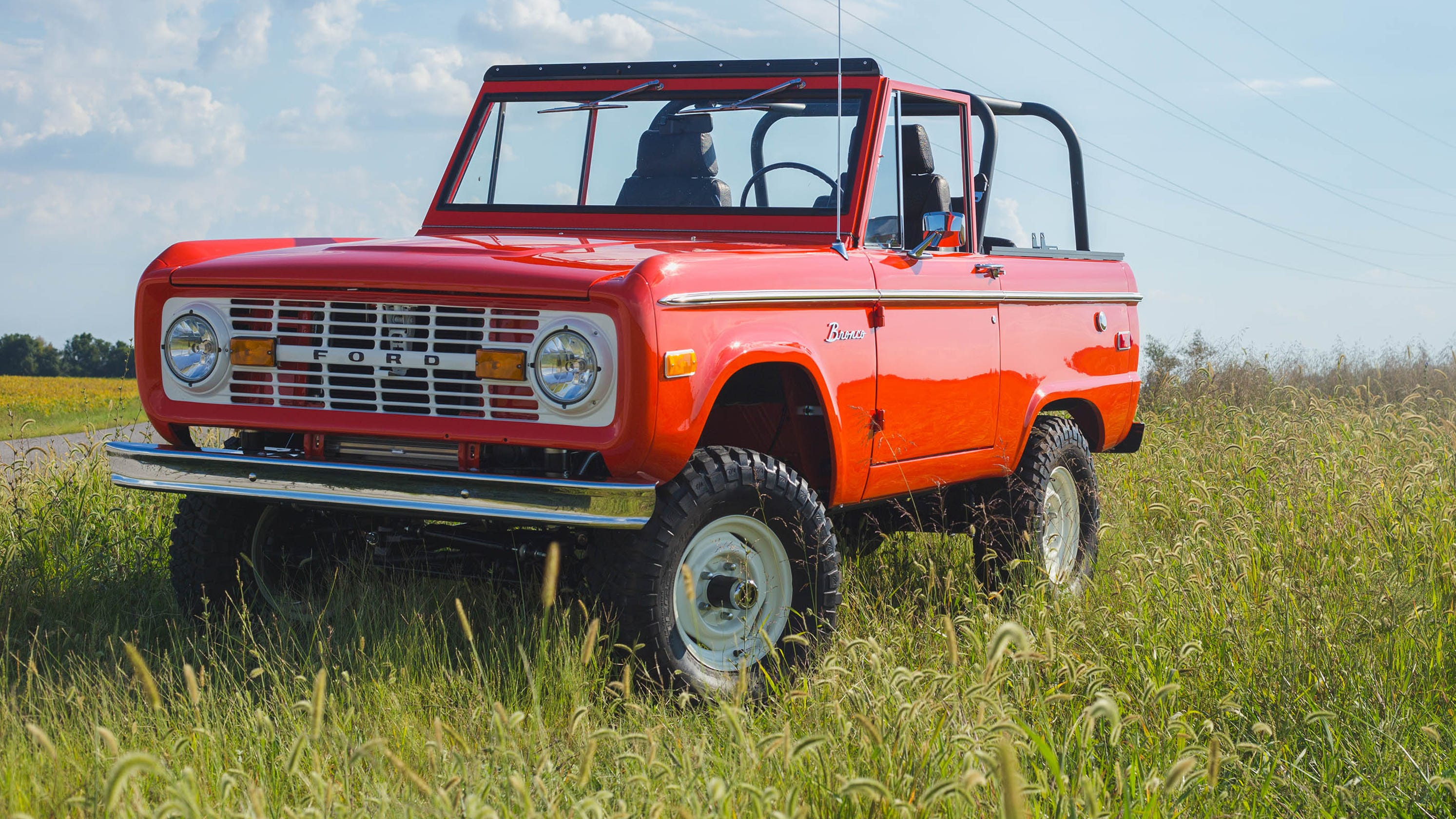 A 'new' 1960s Ford Bronco Could Be Yours