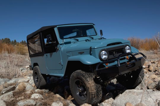 Icon rebuilds classic Toyota FJ40 Land Cruisers.