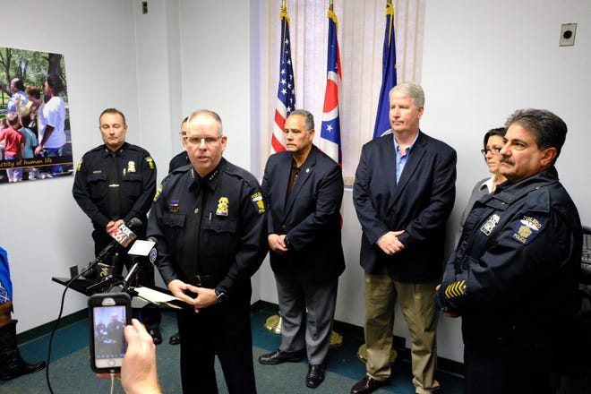 Toledo Police Chief George Kral said the suspect was arrested at 3:36 a.m. on Thursday and brought to the police station. At 12:30 p.m. Barstad, 23, asked to be removed from his holding cell to go to the restroom and then charged at officers. During the struggle, Barstad, reached for an officers taser and he was shot once in the chest by a Toledo police officer.