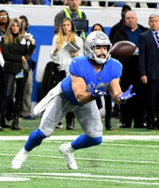 The Lions' Nick Bellore has made the transition from linebacker to fullback while remaining an important special-teams member.