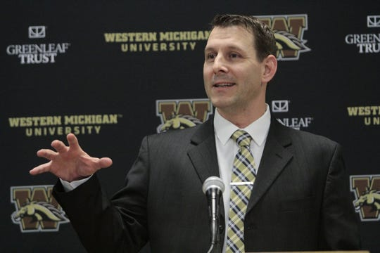 Western Michigan coach Tim Lester announced future games with Syracuse and Pitt.