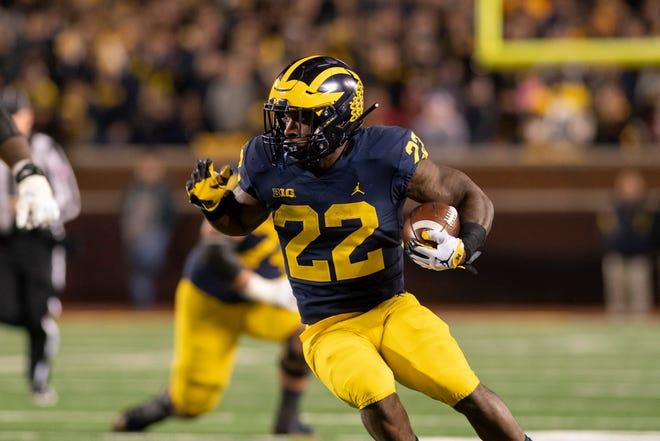Michigan running back Karan Higdon            will skip the Peach Bowl to focus on preparing for the NFL Draft.