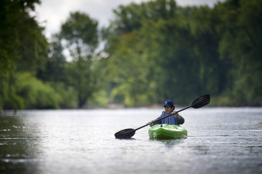 Wetland Wonders Guided Kayak Paddle On The Muskegon River
