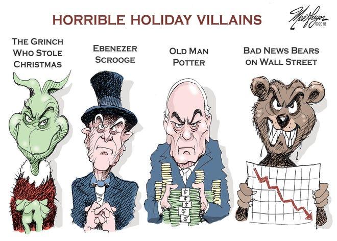 Holiday villains