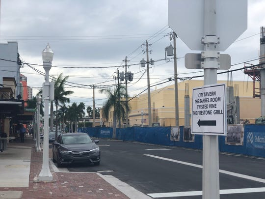 Bay Street reopened this week after a six-month closure due to construction of the Luminary Hotel.