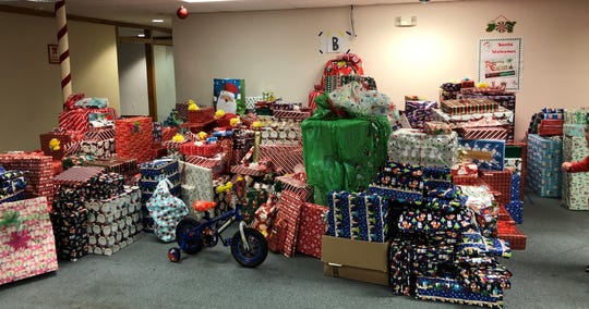 The Children's Network of Southwest Florida, a United Way program, provides gifts to approximately 2,500 needy children in Lee, Collier, Charlotte, Hendry and Glades counties. From  $300,000 to $400,000 in presents are given.