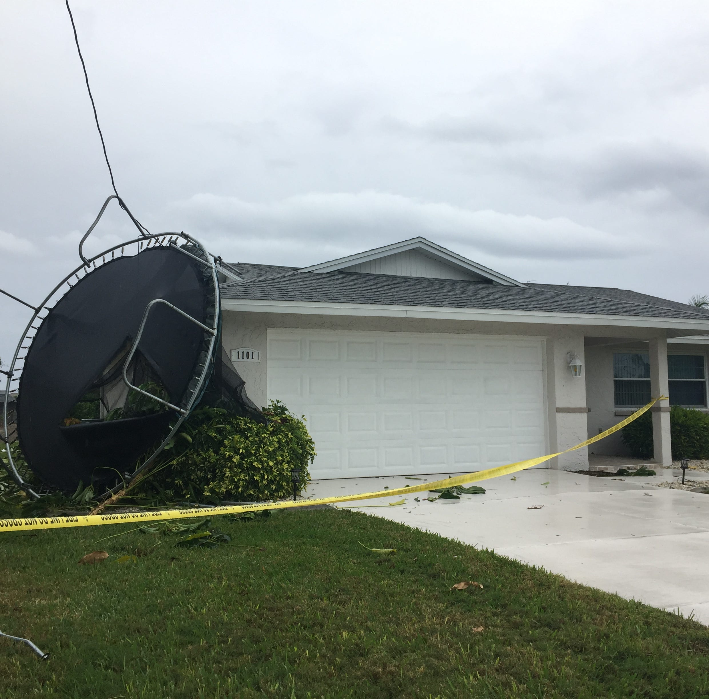 Bad weather causes damage in Cape Coral; youth and after-school activities canceled in Lee County