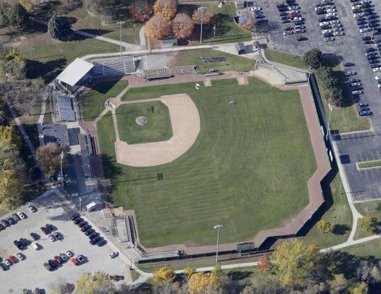 Joannes Park baseball field   in Green Bay.