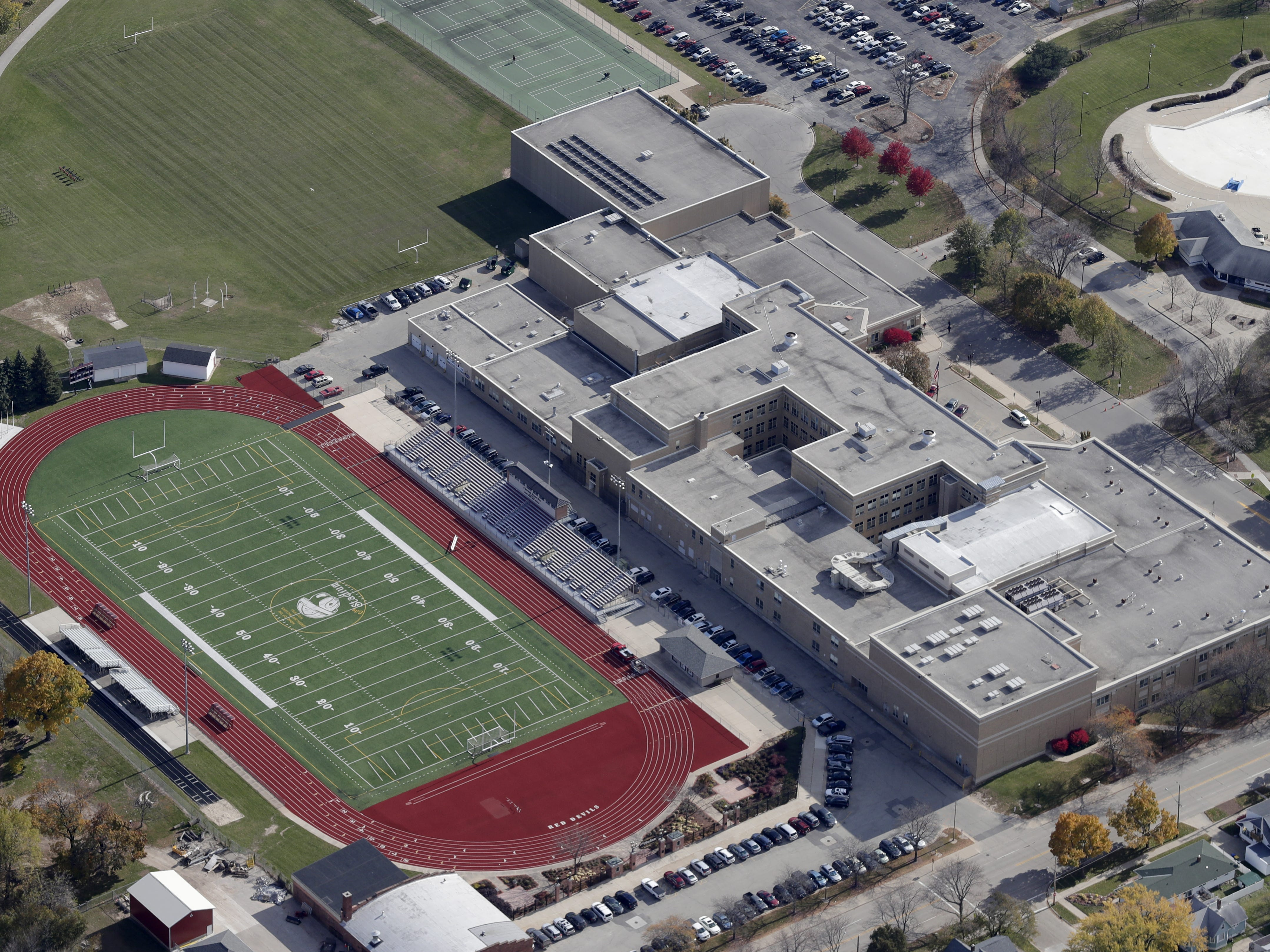 East High School and City Stadium  in Green Bay.