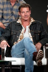 "Ty Pennington co-hosts ""Small Business Revolution"" with Amanda Brinkman."