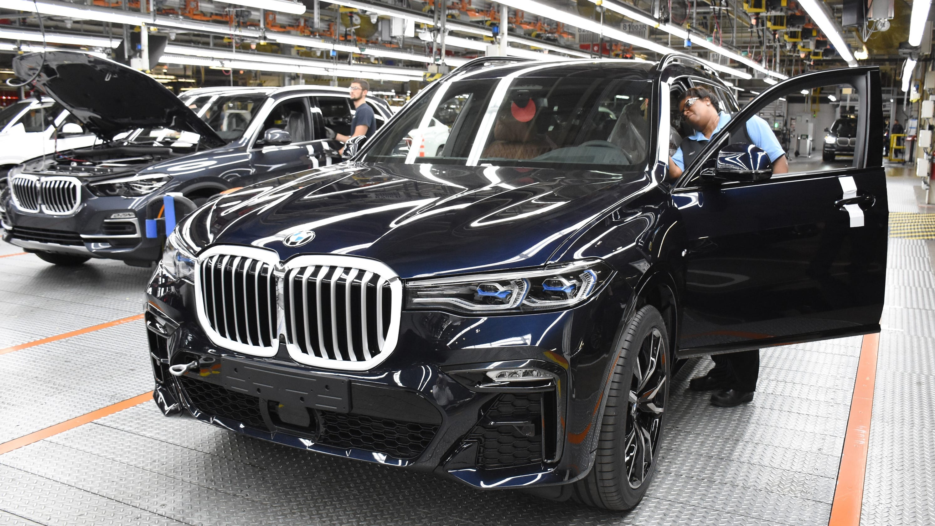 BMW freezes pension plans for US employees including those in SC